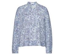 Bedruckte Bluse Karan aus Baumwolle