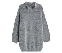 Oversize-Pullover aus Baby Alpaka und Baumwolle