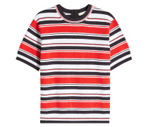 Gestreiftes Shirt mit Baumwolle