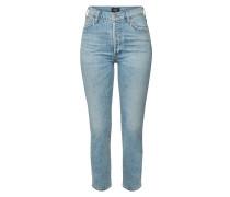 High Rise Slim Jeans Olivia Crop
