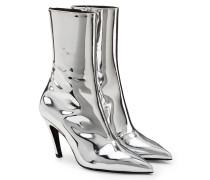 Ankle Boots Talon Mirror aus Lackleder