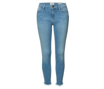 Distressed Skinny Jeans Le High Skinny Micro Raw