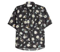 Bedrucktes Hemd aus Schurwolle