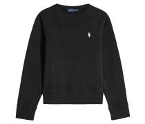 Sweatshirt aus Baumwolle mit Logo-Stickerei