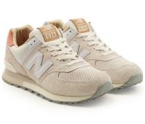 Sneakers ML574 aus Veloursleder und Leder