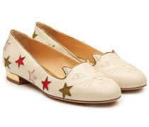 Loafers Circus Kitty aus Leder