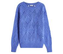 Pullover mit Mohair und Alpaka-Wolle