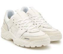 Sneakers Lucky 9 Running aus Leder, Veloursleder und Mesh