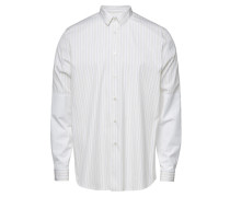 Gestreiftes Hemd Rispetto aus Baumwolle