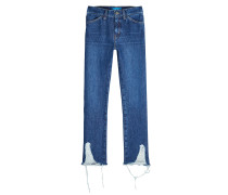 Mid Rise Cropped Jeans Cult