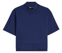 Cropped T-Shirt aus Baumwolle mit Print
