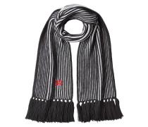 Gestrickter Schal Noël aus Wolle