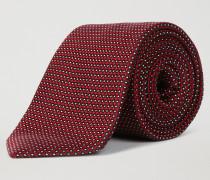 Krawatte aus Reiner Seide mit Geometrischem Muster