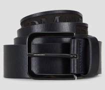 Gürtel aus Leder mit Emporio Armani-logo