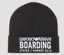Beanie Capsule Kollektion Emporio Armani Boarding