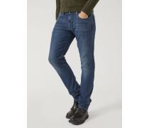 Slim Fit-jeans J06 aus Stone-washed-denim