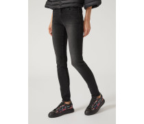 Super Skinny Jeans J23 Aus Stretch-denim