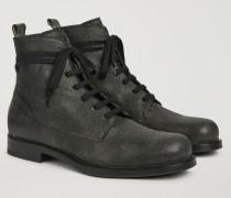 Combat Boots Aus Paloma-leder