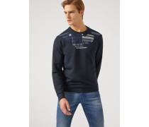 Sweatshirt Aus Baumwolle Und Modalstretch
