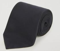 Krawatte aus Seide mit Logostickerei