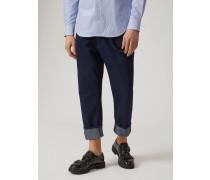 Jeans J09 mit Lockerer Passform aus Baumwolldenim