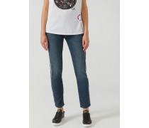 Jeans Regular Fit J13 mit Seitlicher Webkante