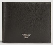 Portemonnaie aus Leder mit Palmellato-prägung