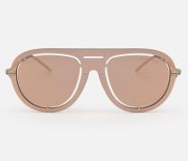 Sonnenbrille mit Gelaserter Maskenoptik