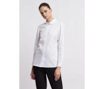 Hemd aus Reiner Baumwolle mit Bubikragen