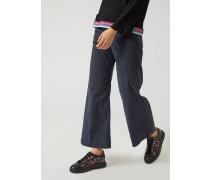 Jeans Mit Weiter Passform Aus Stretchgewebe