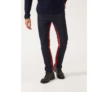 Slim Fit-jeans aus 11,5 Oz Komfort Denim aus Baumwolltwill mit Gefärbten Details