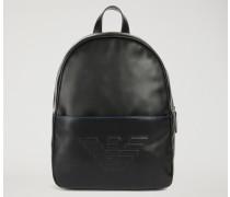Rucksack mit Vordertasche und Emporio Armani-logo