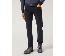 Slim Fit-jeans J06 Aus Gabardine/baumwollstretch