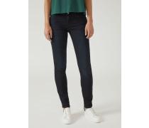 Super Skinny Jeans aus Stretch-denim in Blue Black Raw