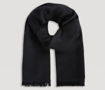 Schal aus Reiner Wolle mit Farblich Abgestimmtem, Aufgesticktem Adlermotiv