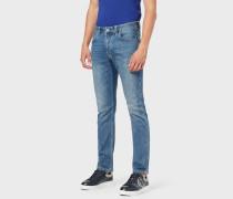 Jeans J15 In Regular Fit Aus Komfort-baumwolltwill