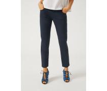 Straight Fit Jeans J36 Aus Gabardine