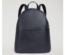 Rucksack aus Gehämmertem Leder