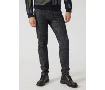 Slim Fit-jeans aus 12 Oz Denim mit Webkante An den Seiten
