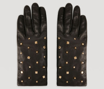 Lederhandschuhe mit Dekorativen Nieten