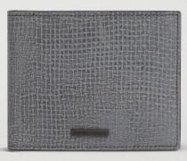 Portemonnaie Aus Geprägtem Leder