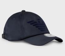 Baseball-cap Mit Flock-logo