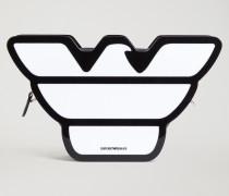 Tasche in Adlerform aus Plexiglas