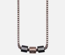 Halskette aus Poliertem Stahl