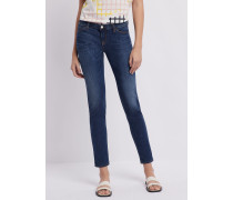 Jeans J06 in Skinny Fit aus Stretchdenim mit Lyocell in Vintage-optik