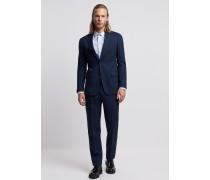 Einreihiger Anzug aus Wollfresko