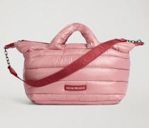 Gepolsterte Puffer-tasche mit Trageriemen mit Emporio Armani-logo