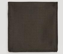 Einstecktuch aus Reiner Seide mit Geometrischem Muster