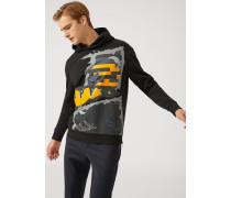 """Sweatshirt Aus Baumwolle Mit """"jpn""""-print"""