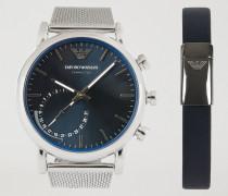 Geschenkset Hybrid-smartwatch Und Armband 9003
